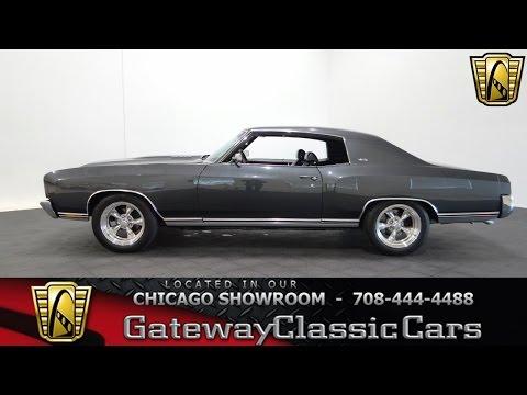 1970 Chevrolet Monte Carlo Gateway Classic Cars Chicago #1093
