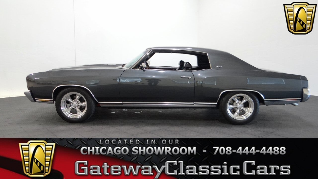 1970 Chevrolet Monte Carlo Gateway Classic Cars Chicago #1093 ...