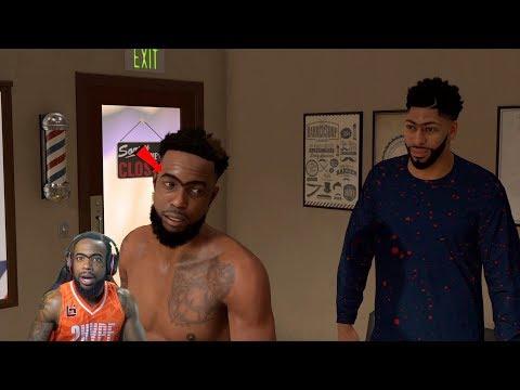 Anthony Davis Pranked Me In The Barbershop! NBA 2K19 MyCareer Ep. 70