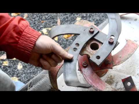 Gardening,:Replacing Worned Tines On A Troy-bilt Econo Horse Tiller