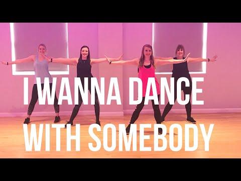 Whitney Houston 'I Wanna Dance With Somebody' - Dance Fitness Routine || Dance 2 Enhance