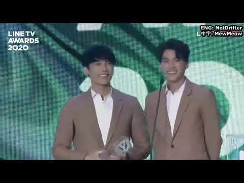 Mew Gulf - LINETV Awards 2020 Best Kiss Scene 最佳吻戲 [ENG/中字]