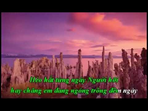 karaoke ngan doi cho mong tone Ngoc Lan