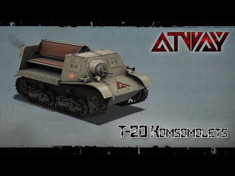 Heroes & Generals. T-20 Komsomolets. Герои и Генералы. Т-20 Комсомолец
