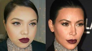Kim Kardashian LACMA Makeup Tutorial
