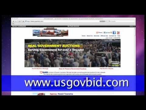 USGovBid Online Bidding Help