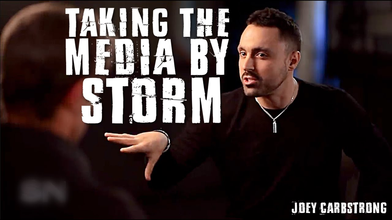 The BEST MOMENTS of Joey Carbstrong VS The Media