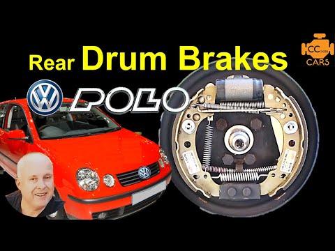 VW Polo Rear Brake Shoe Replacement - Polo Drum Brakes