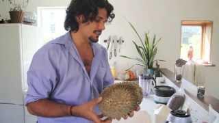 Fresh Coconut &amp Durian Smoothie Recipe