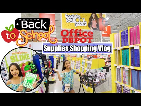 BACK TO SCHOOL 🍎 SHOPPING VLOG! ✏️📚