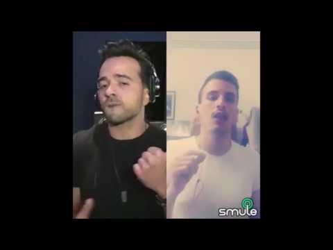 Despacito smule duet L. Fonsi & Roberto Todaro