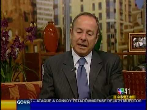 Dr. Luis Navarro appears on Univision
