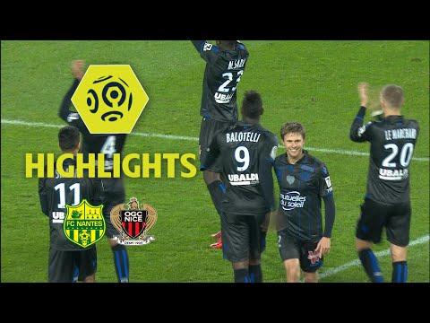 FC Nantes - OGC Nice (1-2) - Highlights - (FCN - OGCN) / 2017-18