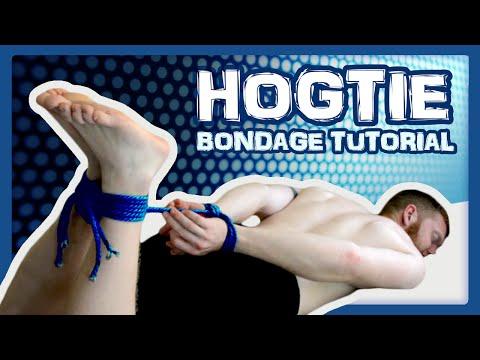 HOGTIE BONDAGE - How to tie a hogtie