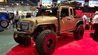 Nothing but Jeeps :SEMA Las Vegas