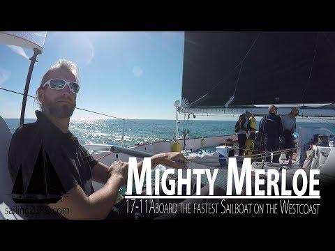 17-11_Mighty Merloe - Aboard the fastest Sailboat on the Westcoast (sailing syZERO)