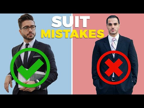 10 SUIT MISTAKES MEN MAKE And How To Fix Them | Alex Costa