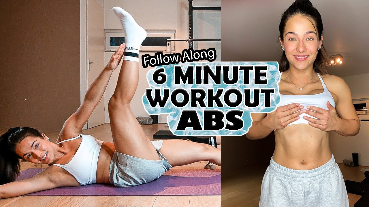6 MINUTE AB WORKOUT! *NO EQUIPMENT