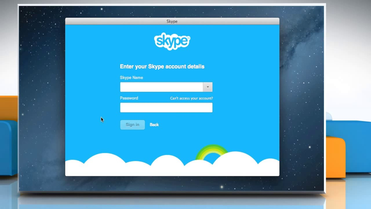 Skype login account - How To Merge A Skype Account With A Microsoft Account On Mac Os X