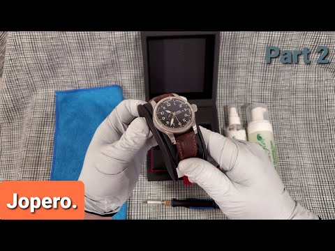 How To: Clean And Condition Your Leather Watch Strap Like A Pro. (Part 2)