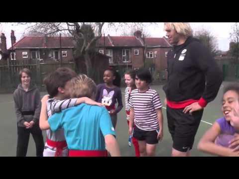 Botha and Nieto Visit Highgate Primary School