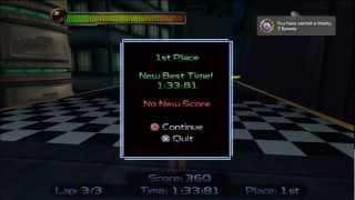 Ratchet & Clank - Speedy - BEST ROUTE - 1:33:81 Rilgar Hoverboard race [HD]