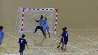 20191214福岡県高校新人ハンドボール(男子)2回戦 光陵vs九州(後半)