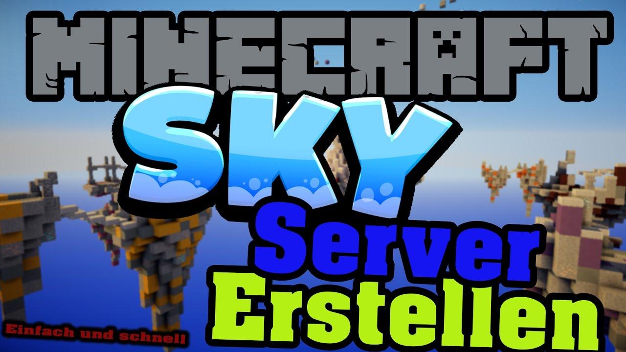 Minecraft SKY MODPACK Server Erstellen EinfachSchnell Kostenlos - Minecraft server erstellen mit modpack