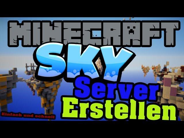 Sidezocking Lp Minecraft Sky Modpack Server Erstellen Einfachschnell - Minecraft multiplayer server erstellen kostenlos