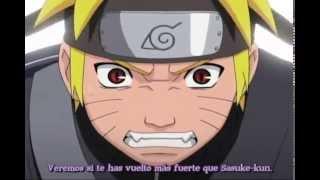 Naruto vs Orochimaru batalla completa