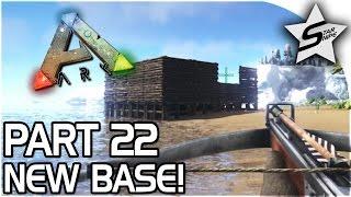 NEW BASE, Argentavis Taming! - ARK Survival Evolved PS4 PRO Gameplay Part 22