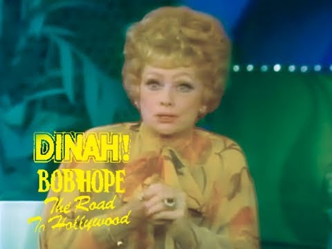 Lucille Ball & Bob Hope on The Dinah Shore Show - 1977