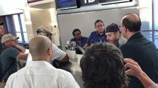 United has done it again...(cancelled flight from Midland to Houston, 04/27/17)