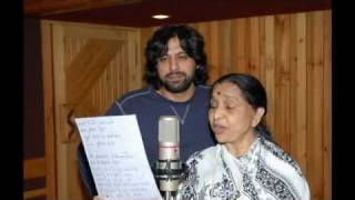 Two Legend Singers,Jawad Ahmad & Asha Bhonsley