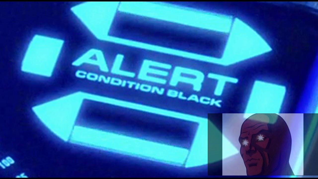 Black Alert Klaxon sound FX from Star Trek Discovery