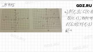 № 415 - Математика 6 класс Зубарева