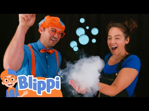 Learning Shapes And Bubbles With Blippi | Educational Videos For Kids
