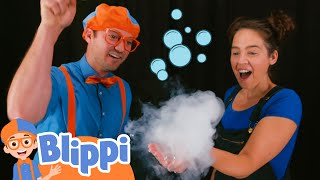 Download lagu Learning Shapes And Bubbles With Blippi | Educational Videos For Kids