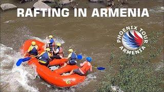 The Best River Rafting Trip In Armenia  | HD