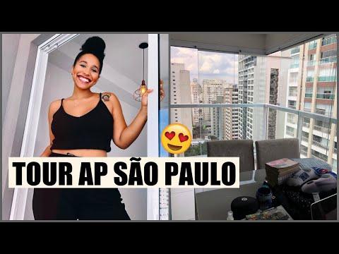 TOUR PELO MEU APARTAMENTO STUDIO EM SÃO PAULO