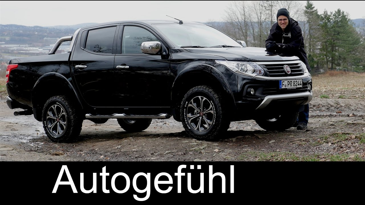 fiat fullback full review test driven double cab 2 4d pickup lx new neu  2018/2017