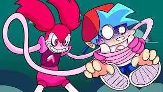 BOYFRIEND vs. SPINEL! Friday Night Funkin' Logic | Cartoon Animation