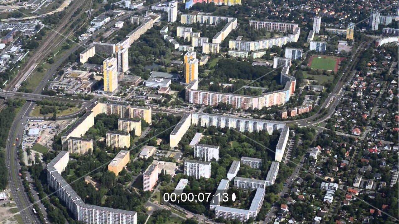 wohnneubaugebiet an der m rkischen alle im stadtteil marzahn von berlin youtube. Black Bedroom Furniture Sets. Home Design Ideas