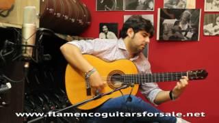 Gerundino Fernandez 1973 guitar played by Manuel Valencia