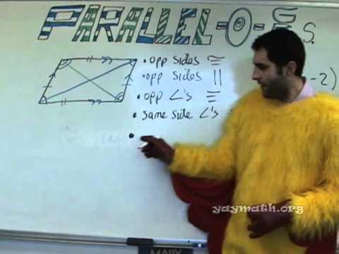 Geometry - Parallelograms