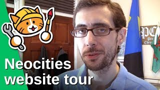 My Neocities website tour