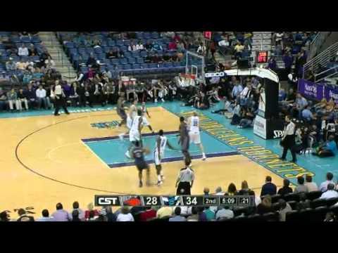 NBA Charlotte Bobcats Vs New Orleans Hornets Highlights Mar 12, 2012 Game Recap