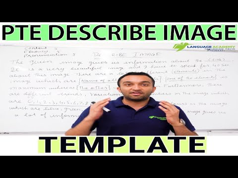 PTE DESCRIBE IMAGE TEMPLATE | PTE Classes in Parramatta Sydney | Language Academy PTE NAATI Experts