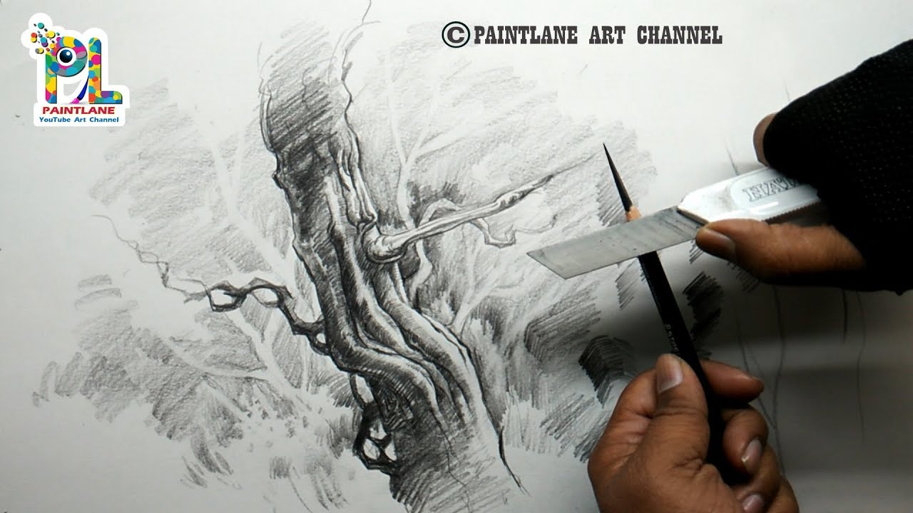 Basic Pencil Strokes For Shading | Very Easy Pencil ...