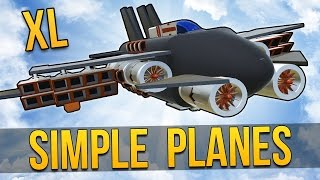 SimplePlanes - USER CREATIONS XL ★ Let's Play SimplePlanes (Simple Planes Gameplay) thumbnail